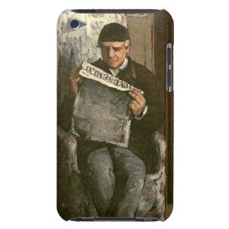 "El padre del artista, leyendo ""L'Événement"", 1866 Case-Mate iPod Touch Funda"