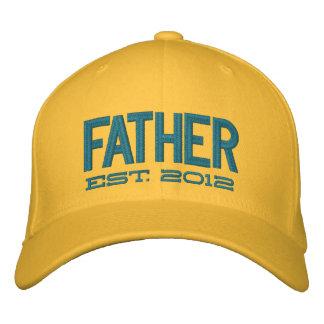 El padre estableció 2012 (el personalizable) gorra bordada