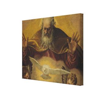 El padre eterno impresion de lienzo