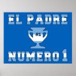 El Padre Número 1 - Number 1 Dad in Argentine Print