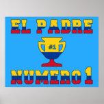 El Padre Número 1 - Number 1 Dad in Colombian Poster