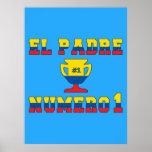 El Padre Número 1 - Number 1 Dad in Ecuadorian Print