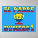 El Padre Número 1 - Number 1 Dad in Ecuadorian Poster