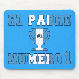 El Padre Número 1 - Number 1 Dad in Guatemalan Mouse Pad