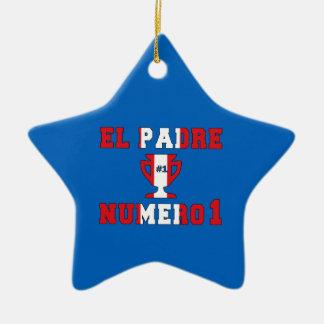 El Padre Número 1 - Number 1 Dad in Peruvian Ornament