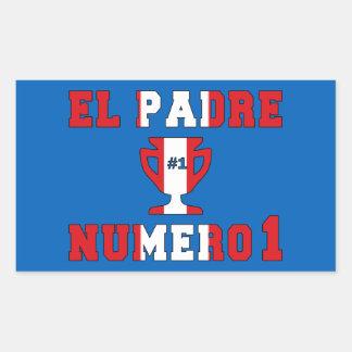 El Padre Número 1 - Number 1 Dad in Peruvian Sticker