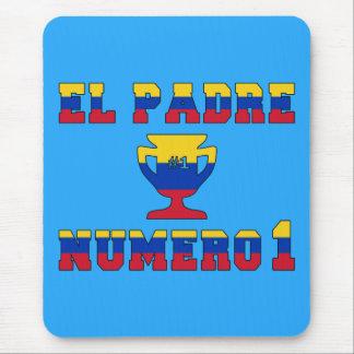 El Padre Número 1 - Number 1 Dad in Venezuelan Mouse Pad