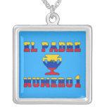 El Padre Número 1 - Number 1 Dad in Venezuelan Personalized Necklace