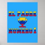 El Padre Número 1 - Number 1 Dad in Venezuelan Print