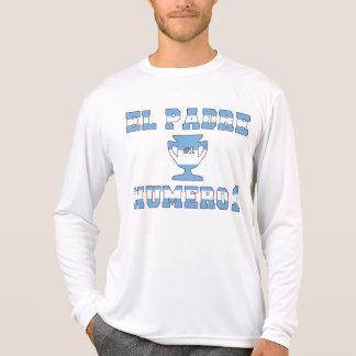 EL Padre Número 1 - papá del número 1 en Argentina Camiseta