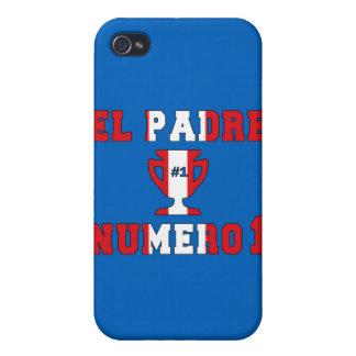 EL Padre Número 1 - papá del número 1 en Peruvian iPhone 4 Protectores