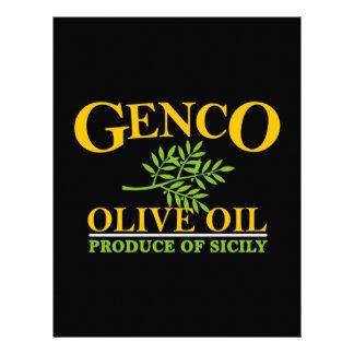 El padrino - aceite de oliva de Genco Membrete A Diseño