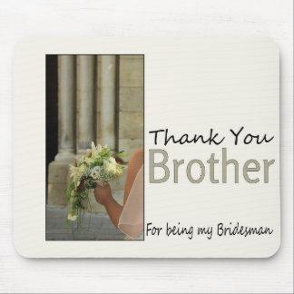 El padrino de boda de Brother le agradece Alfombrilla De Raton
