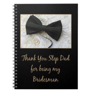 El padrino de boda del papá del paso le agradece notebook