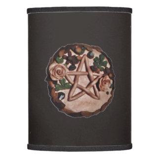 El Pagan de Wiccan de la bruja del pentáculo elige Pantalla De Lámpara
