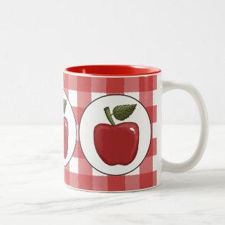 El país Apple da fruto taza de café