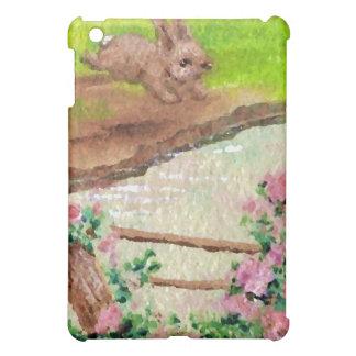 El país del conejito del campo florece el conejo d