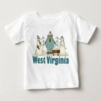 El país lindo de Virginia Occidental embroma la Playera