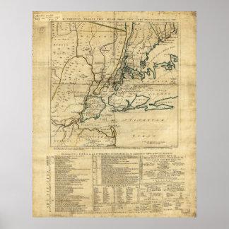 El país veinticinco millas de Nueva York redonda Póster