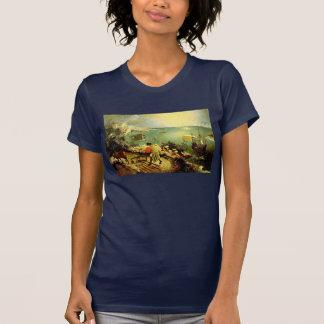 El paisaje de Bruegel con la caída de Ícaro - 1558 Camisetas
