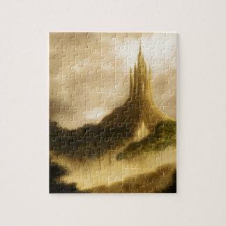el paisaje de la fantasía del reino del elven puzzle