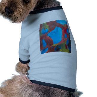 El paisaje elegido pintura de paisaje abstracta camiseta de mascota