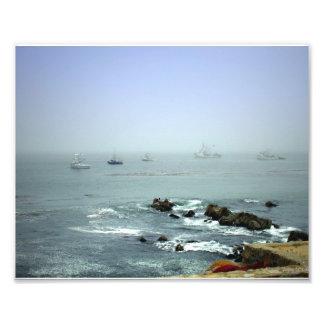 El paisaje marino de Mike Cojinete