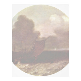 El paisaje marino., el inglés Boyer y otro envía e Plantillas De Membrete