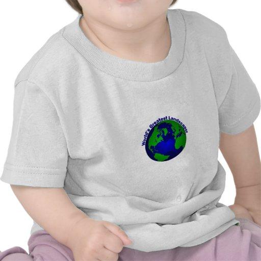 El paisajista más grande del mundo camisetas
