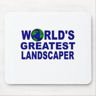 El paisajista más grande del mundo tapetes de ratones
