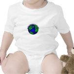 El paisajista más grande del mundo traje de bebé