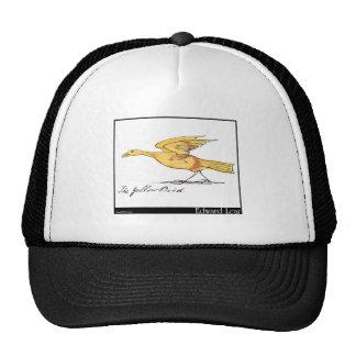 El pájaro amarillo de Edward Lear Gorras