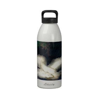 El pájaro de la canción trae paz botellas de beber