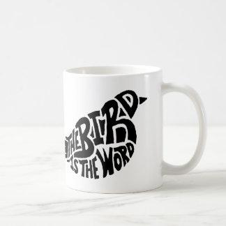 El pájaro es la taza de la palabra