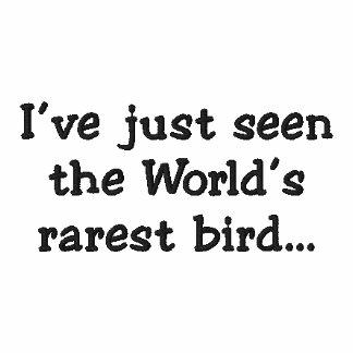 El pájaro más raro…