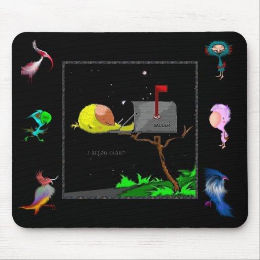 El pájaro Mousepad de Sadler Alfombrillas De Ratones