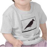 El pájaro negro de Edward Lear Camisetas