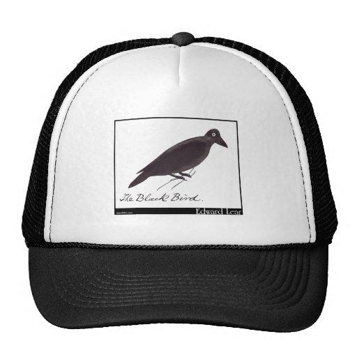 El pájaro negro de Edward Lear Gorro