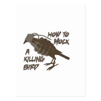 El pájaro principal postales