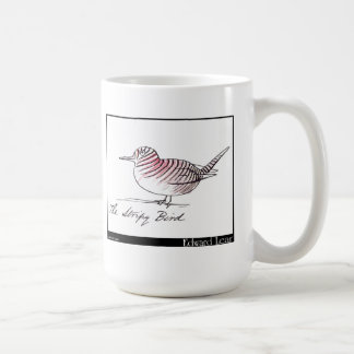 El pájaro rayado de Edward Lear Taza Clásica