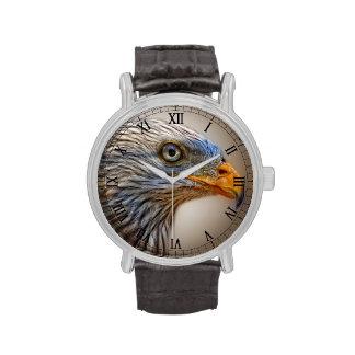 El pájaro rojo de la cometa relojes de pulsera