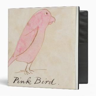 El pájaro rosado de dieciséis dibujos de Bir cóm