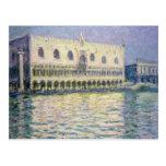 El Palace ducal, Venecia, 1908 Tarjeta Postal