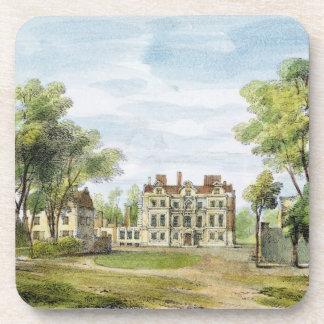 El palacio al sur delantero, viejo, Kew cultiva un Posavasos De Bebidas