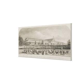 El palacio cristalino en Hyde Park para el gran In Lona Estirada Galerias