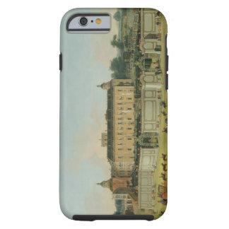 El palacio de Aranjuez, 1756 (aceite en lona) Funda Resistente iPhone 6