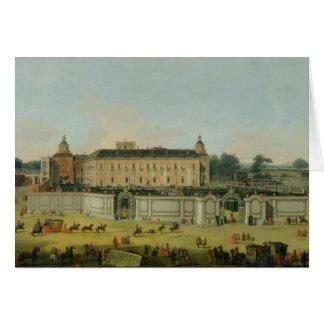 El palacio de Aranjuez, 1756 (aceite en lona) Tarjeta De Felicitación