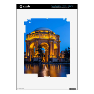 El palacio de bellas arte en el amanecer iPad 3 pegatina skin