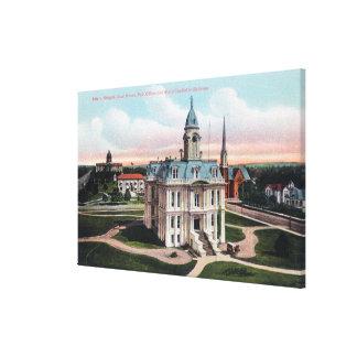 El Palacio de Justicia, la oficina de correos, edi Impresión De Lienzo