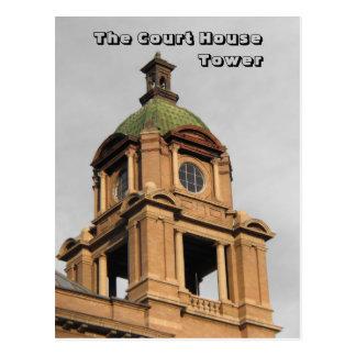 El Palacio de Justicia, torre Postal